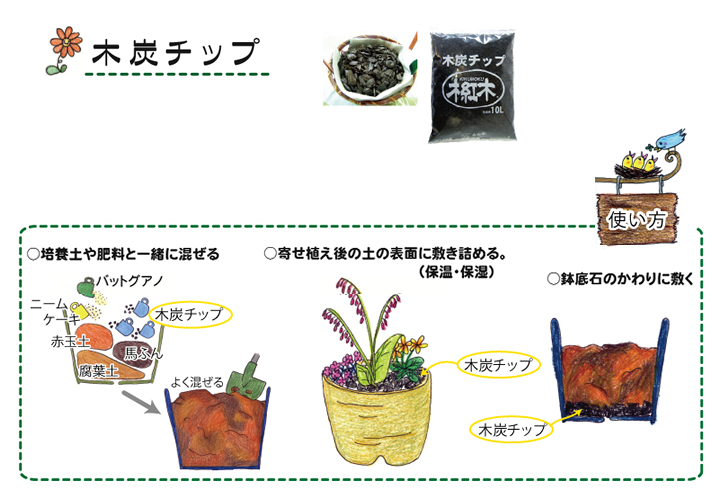 植え替えしない鉢植えの寒肥の施し方