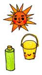 太陽バケツキクノール画像